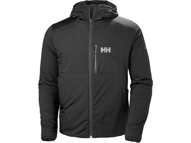 Helly Hansen Odin Stretch Chaqueta aislante con capucha Hombre, black